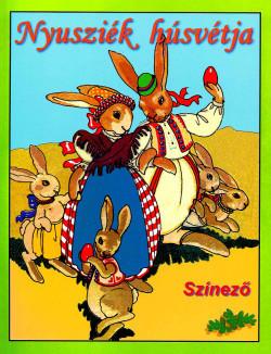 Nyusziék húsvétja színező