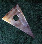 Korongozó kés fémből