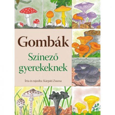 Gombák (színező gyerekeknek)